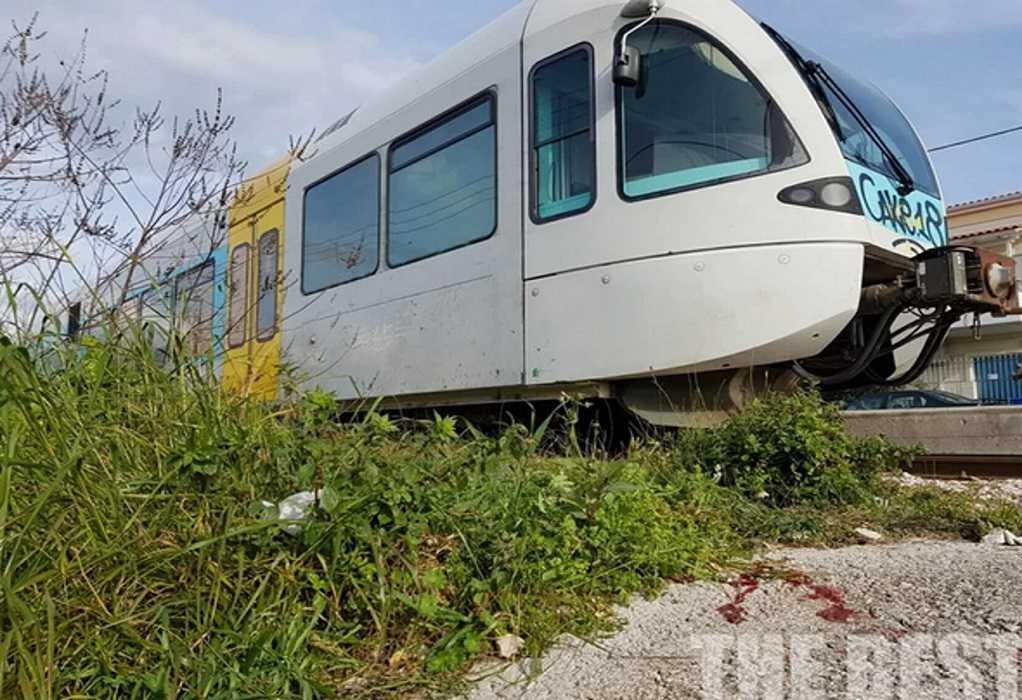 Τρένο παρέσυρε γυναίκα στην Πάτρα (ΦΩΤΟ)