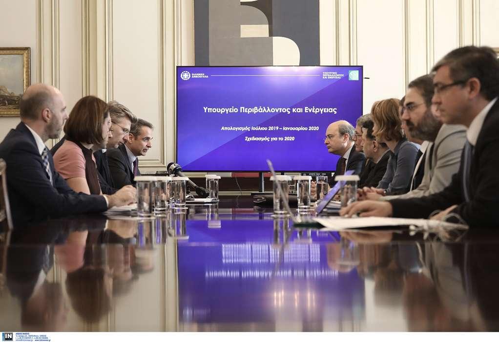 Χατζηδάκης: 61 δράσεις στον προγραμματισμό του ΥΠΕΝ για το 2020