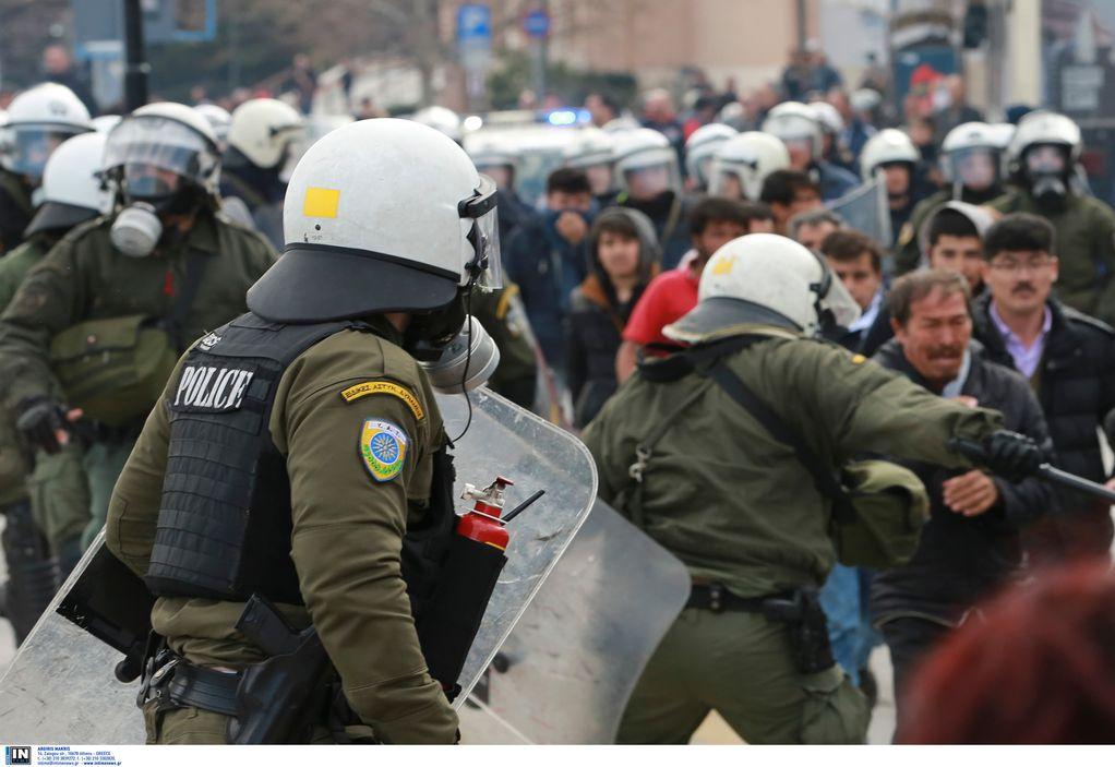 Σε εξέλιξη διαμαρτυρία κατοίκων της στη Λέσβο