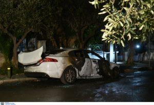 Βόμβα σε αυτοκίνητο εκδότη στην Αγία Βαρβάρα (VIDEO)