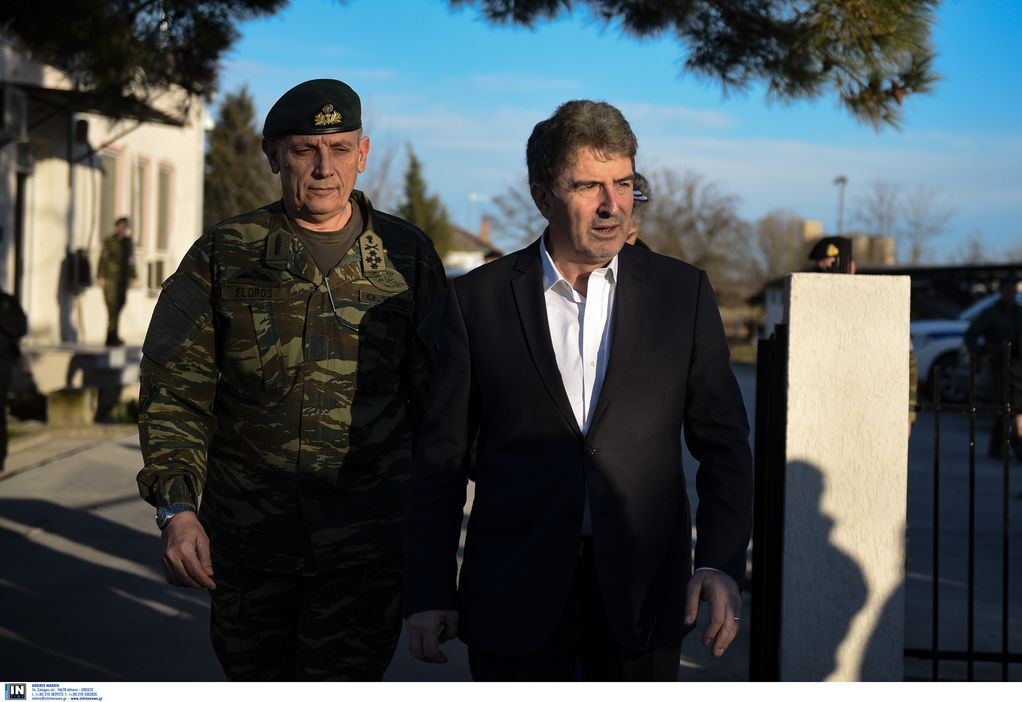 Στις Καστανιές ο Μ. Χρυσοχοΐδης και ο επικεφαλής της Frontex