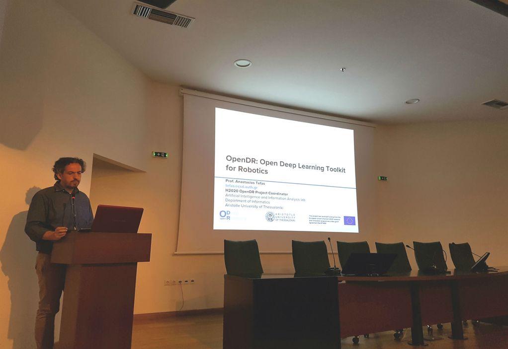 ΑΠΘ: Συντονιστής σε μεγάλο ευρωπαϊκό πρόγραμμα ρομποτικής