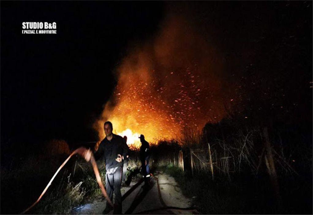 Αργολίδα: Μεγάλη πυρκαγιά – Απειλήθηκαν σπίτια (ΦΩΤΟ-VIDEO)