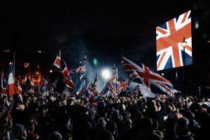 Ολονύχτιο γλέντι στο Λονδίνο για το Brexit (ΦΩΤΟ-VIDEO)