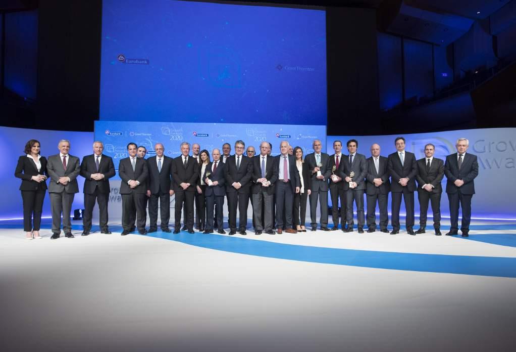 Οι έξι επιχειρήσεις που βραβεύτηκαν στα Growth Awards