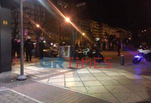 Συμπλοκή μεταξύ αλλοδαπών στο κέντρο της Θεσσαλονίκης (ΦΩΤΟ)