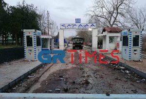 Καστανιές Έβρου: Στο Στρατιωτικό Φυλάκιο 1 Δένδιας- Μπορέλ