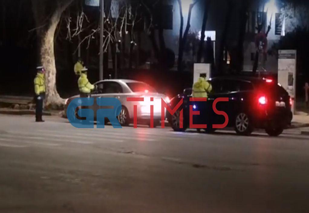 Απαγόρευση κυκλοφορίας: Εντατικοί έλεγχοι και πρόστιμα στη Θεσσαλονίκη (VIDEO)