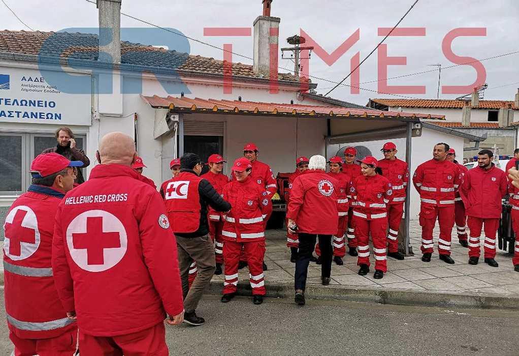 Στις Καστανιές ο πρόεδρος του Διεθνούς Ερυθρού Σταυρού (ΦΩΤΟ-VIDEO)