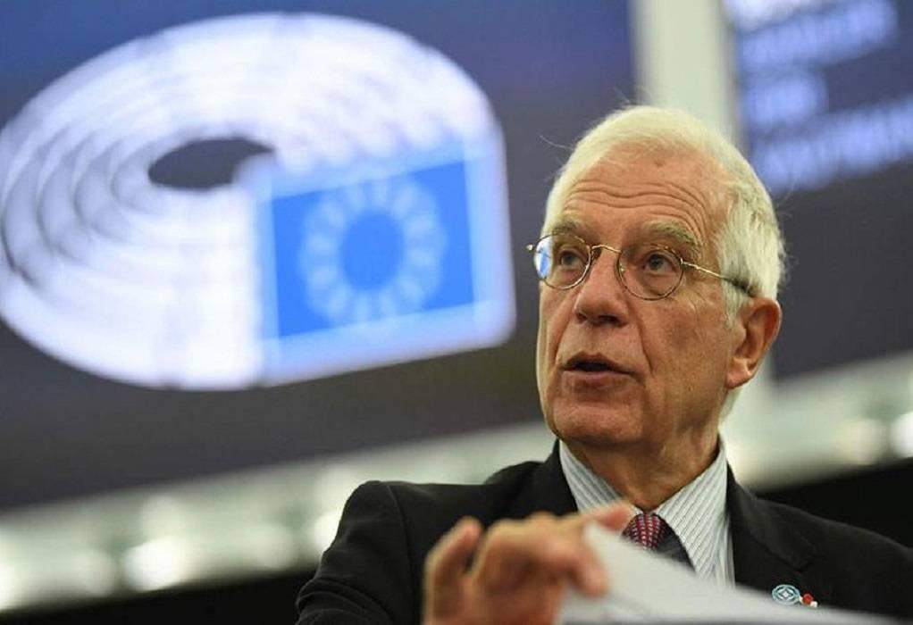Μπορέλ: Απόλυτη αλληλεγγύη σε Ελλάδα και Κύπρο