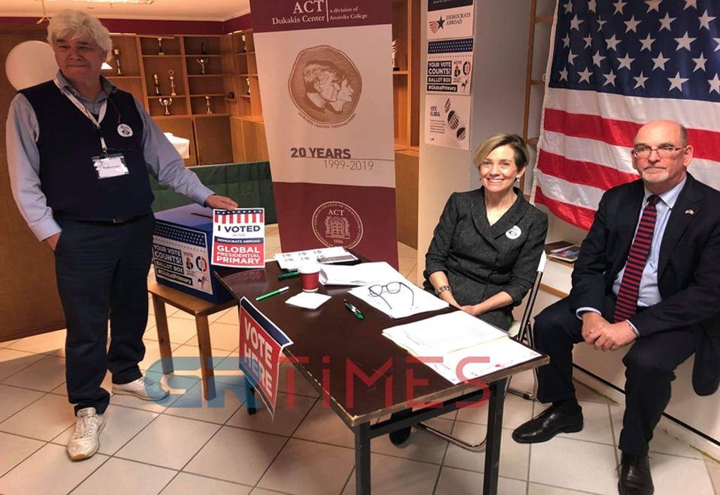 Αποκλειστικό: Πρωτιά στον Σάντερς έδωσαν οι Αμερικάνοι της Θεσσαλονίκης που ψήφισαν στις εσωκομματικές των Δημοκρατικών