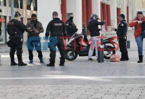 Κορωνοϊός: Εντατικοί έλεγχοι της ΕΛ.ΑΣ στη Θεσσαλονίκη (VIDEO)