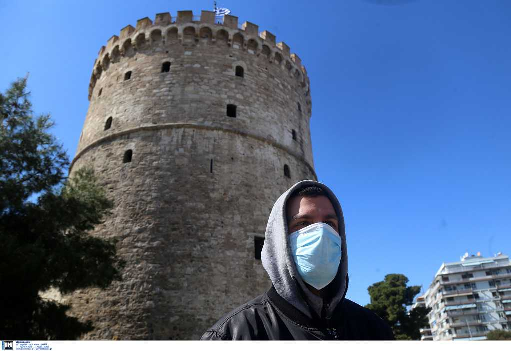 Θεσσαλονίκη: Δείτε την πόλη από τον Λευκό Πύργο (ΒΙΝΤΕΟ)