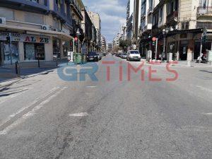 Ο γύρος της… άδειας Θεσσαλονίκης σε ένα λεπτό (VIDEO)