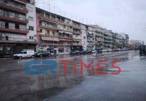 Θεσσαλονίκη: Δείτε την πόλη από τη Λεωφόρο Καραμανλή τώρα (ΒΙΝΤΕΟ)