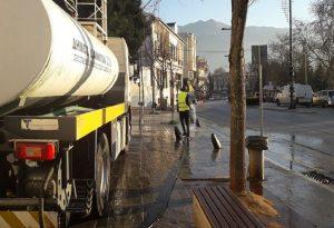 Ιωάννινα: Ξεκίνησε το πλύσιμο δρόμων και πλατειών