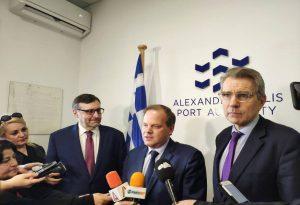 Αλεξανδρούπολη: Αμερικανικό ενδιαφέρον για το λιμάνι