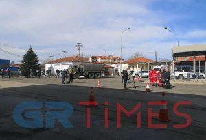 Καστανιές: Προετοιμασία για την υποδοχή του πρωθυπουργού (ΦΩΤΟ)