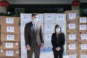 Υπ. Υγείας: 50.000 μάσκες από την Πρέσβη της Λαϊκής Δημοκρατίας της Κίνας