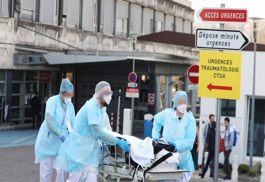 Γαλλία: 57 θάνατοι από κορωνοϊό στα νοσοκομεία