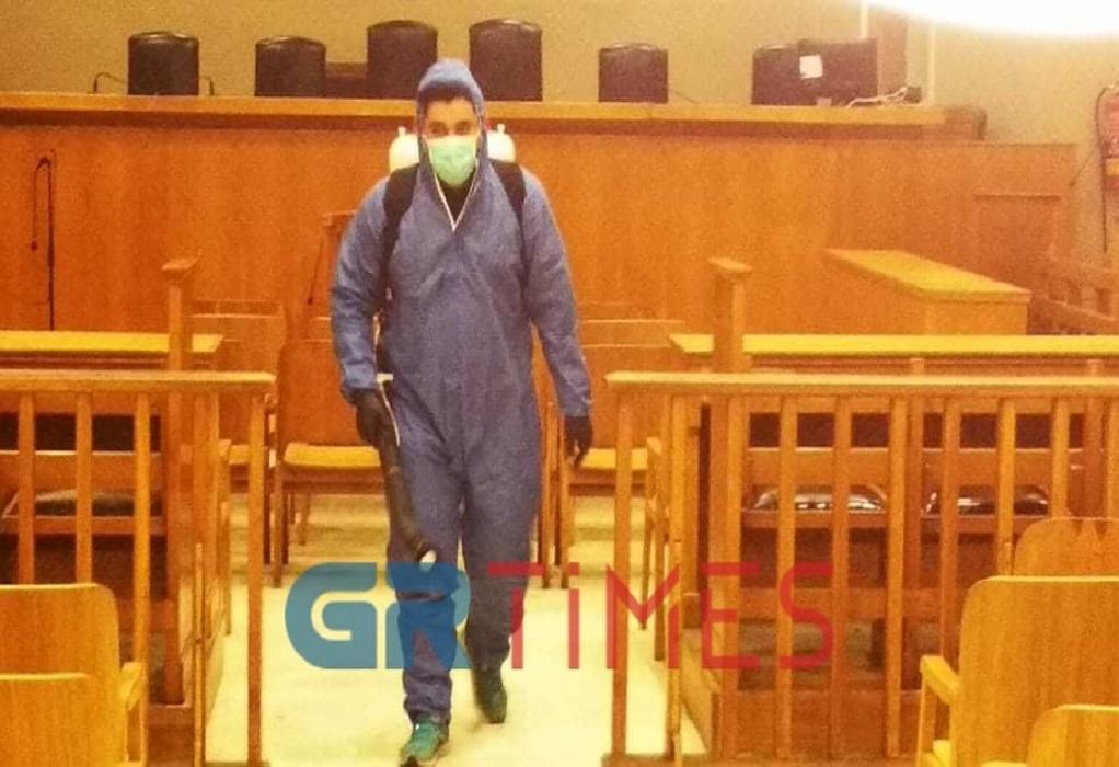 Κορωνοϊός: Έτσι θα λειτουργούν τα δικαστήρια Θεσσαλονίκης