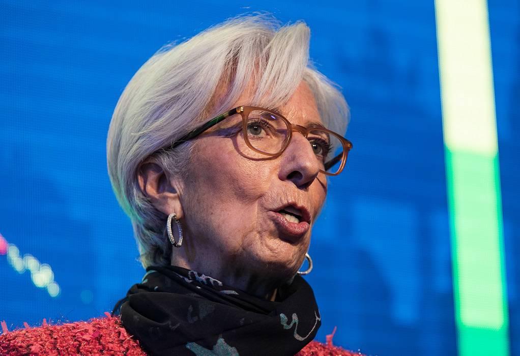 Λαγκάρντ: Το έκτακτο QE θα παραμείνει ο βασικός μοχλός τόνωσης