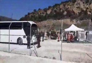 Σιντική Σερρών: Έφτασαν τα πρώτα λεωφορεία με μετανάστες (VIDEO)