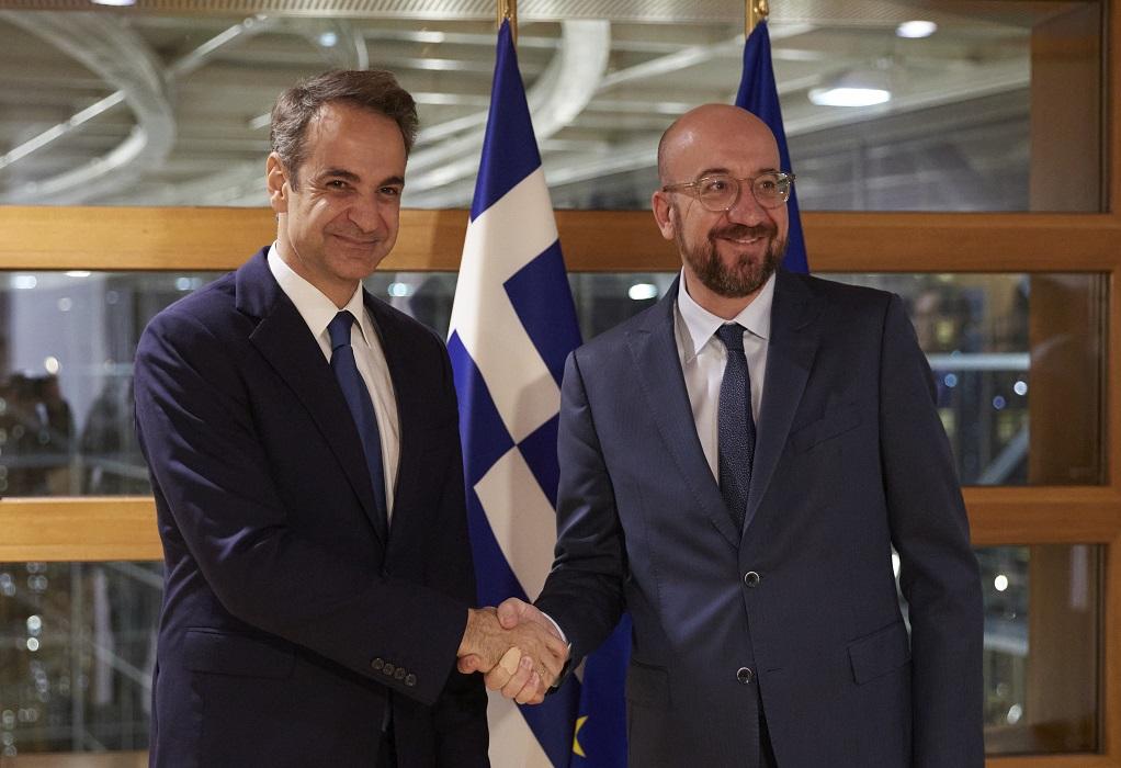 Στον Έβρο σήμερα ο Κ. Μητσοτάκης με τους επικεφαλής της ΕΕ