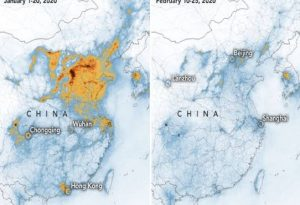 NASA: Πιο καθαρή η ατμόσφαιρα στην Κίνα λόγω κοροναϊού