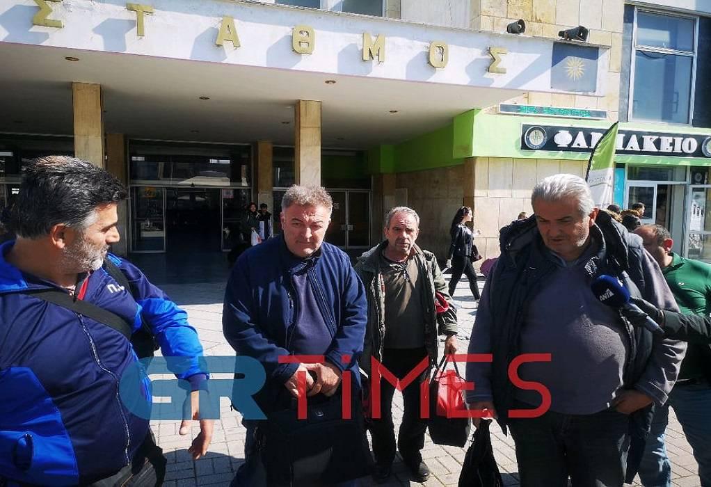 «Πάτησαν» Θεσσαλονίκη οι 13 νταλικέρηδες (ΦΩΤΟ-VIDEO)
