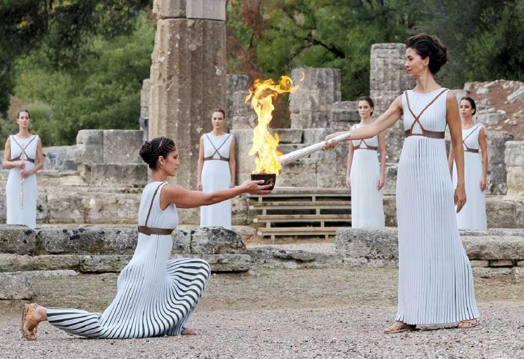 Κεκλεισμένων των θυρών σήμερα η Τελετή Παράδοσης της Ολυμπιακής Φλόγας