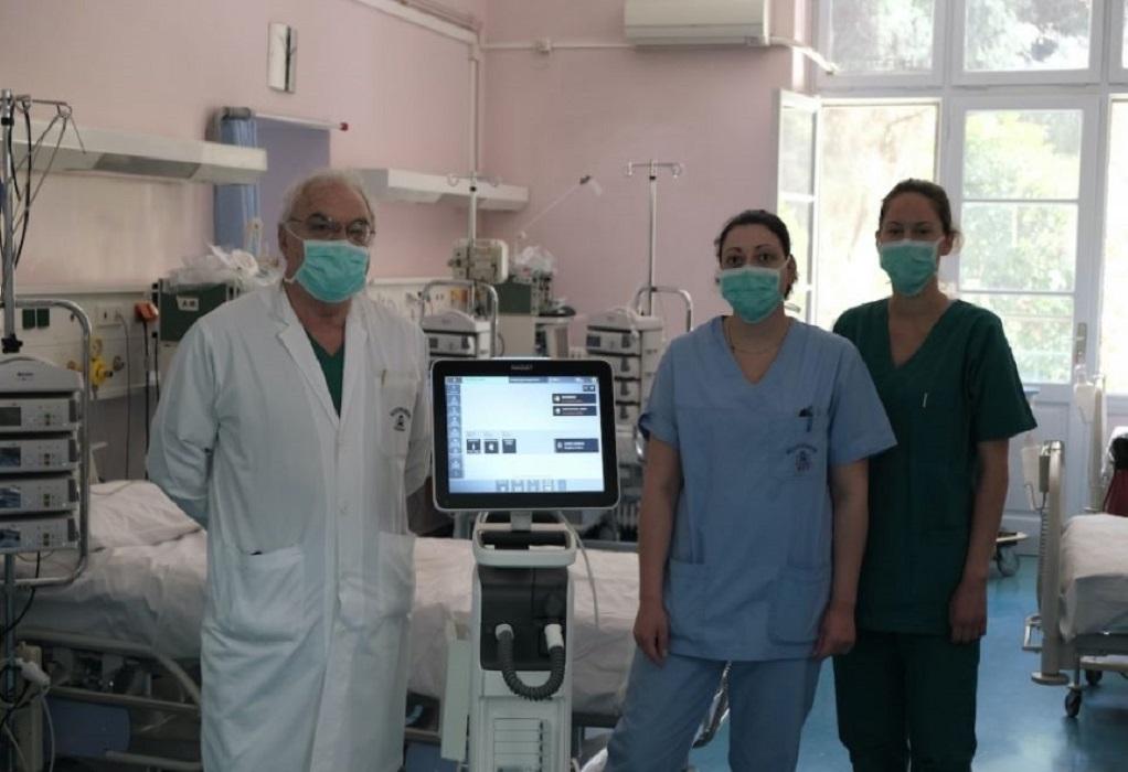 Δωρεά 65 ειδικών αναπνευστήρων από την MYTILINEOS