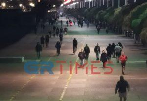 Θεσ/νίκη: «Βολτάρουν» και το βράδυ στη Νέα Παραλία (ΦΩΤΟ+VIDEO)