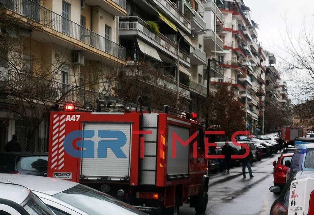 Μπαράζ εμπρησμών στη Δυτική Θεσσαλονίκη