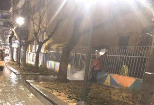 Δήμος Θεσ/νίκης: «Λαμπίκο» οι δρόμοι γύρω από σχολεία (ΦΩΤΟ)