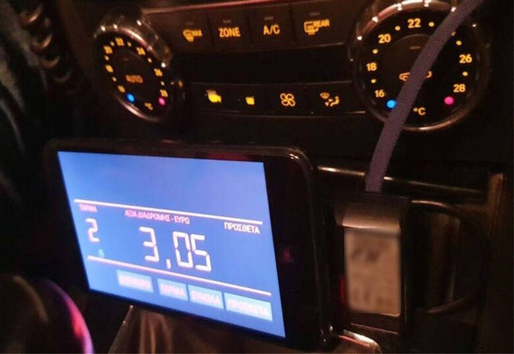 Θεσσαλονίκη: Οδηγοί ταξί χρησιμοποιούσαν tablet αντί για ταξίμετρο!