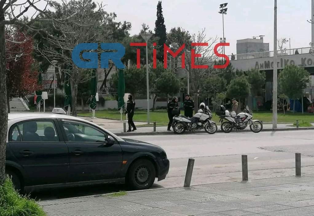 Θεσσαλονίκη: Δείτε την πόλη από την Κλεάνθους τώρα ( video)