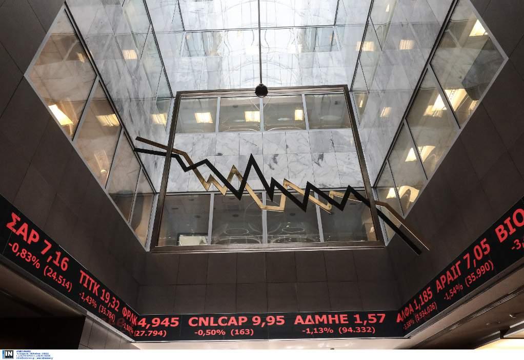 ΧΑΑ: Βουτιά των τραπεζικών μετοχών- Ο Γενικός κάτω από τις 600