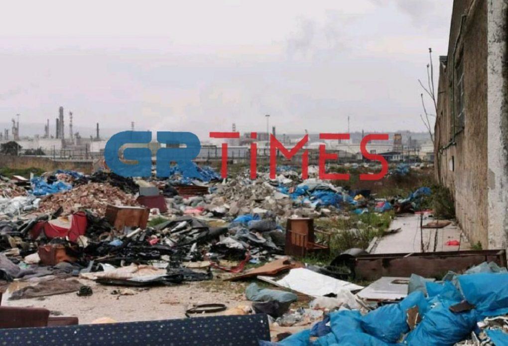 Χωματερή στο πρώην κέντρο φιλοξενίας της Softex (ΦΩΤΟ)