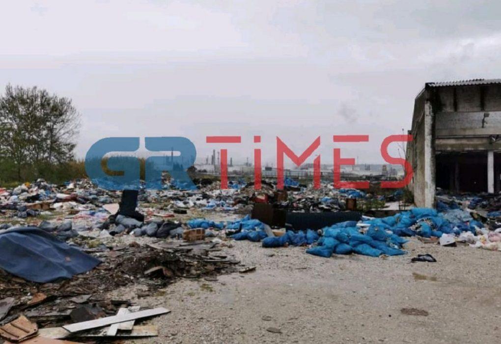 Εισαγγελέας για τη χωματερή στο πρώην κέντρο προσφύγων