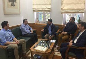 Χανιά: Νέα έργα συζητήθηκαν σε συνάντηση περιφερειάρχη-δημάρχου