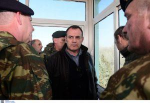 Παναγιωτόπουλος για μέτρα: Δεν υπάρχει σενάριο εμπλοκής του στρατού