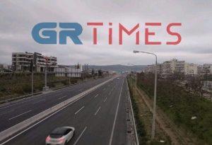 Θεσσαλονίκη: Δείτε την πόλη από τον Περιφερειακό στο ύψος του Ευόσμου τώρα (ΒΙΝΤΕΟ)