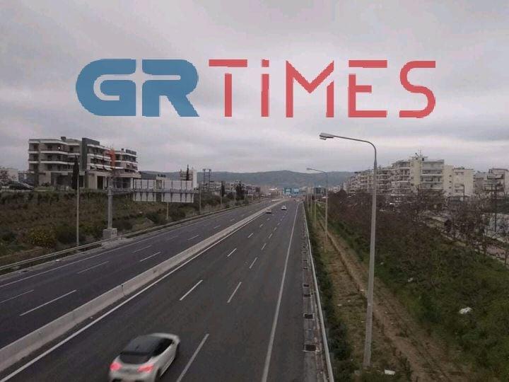 Θεσσαλονίκη: Έργα στην περιφερειακή από σήμερα