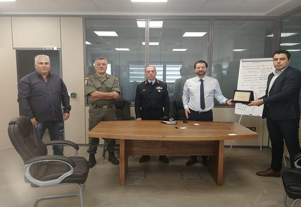 Θεσσαλονίκη: Στολές μάχης μέσω δωρεάς σε αστυνομικούς