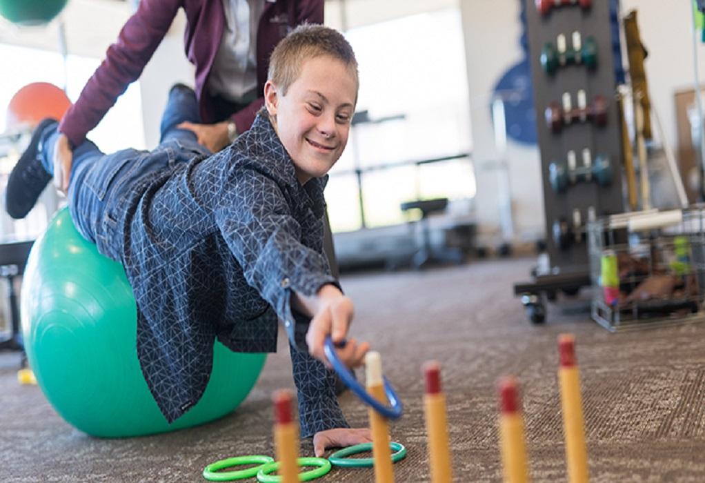 Γυμναστική…online για άτομα με σύνδρομο Down
