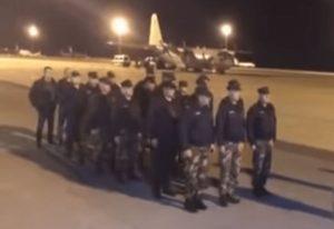 Αναχώρησαν για τον Έβρο οι 22 Κύπριοι αστυνομικοί (VIDEO)