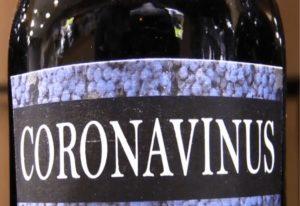 Μαγαζί στη Μαδρίτη πουλά κρασί… «Coronavinus»