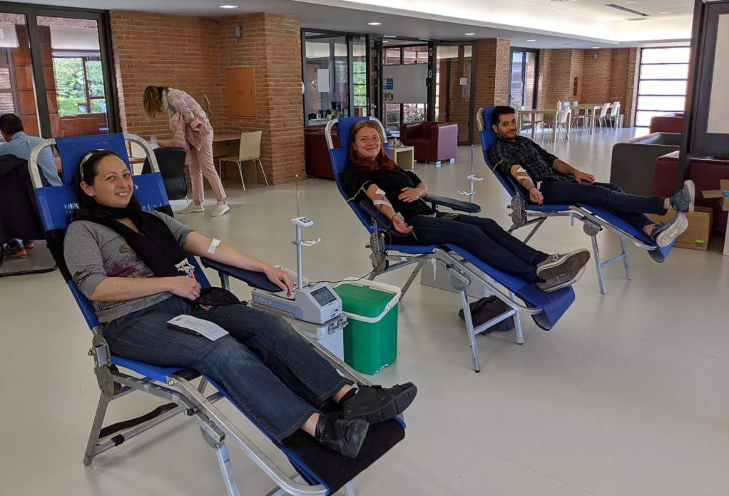Αίμα έδωσαν σπουδαστές και προσωπικό της Αμερικανικής Γεωργικής Σχολής