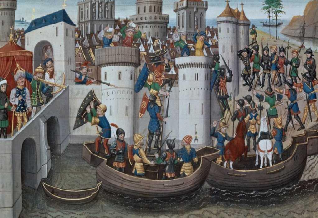 Σαν σήμερα η άλωση της Κωνσταντινούπολης από Σταυροφόρους και Βενετούς